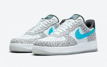 Nike Air Force 1 Low Con Patrones De Leopardo